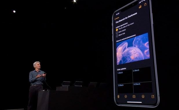 Iphone 8 plus grandes fonctionnalités iOS 13 pour iPhone: mode sombre, connexion avec Apple, etc.