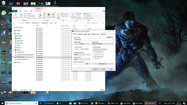 Windows file compression