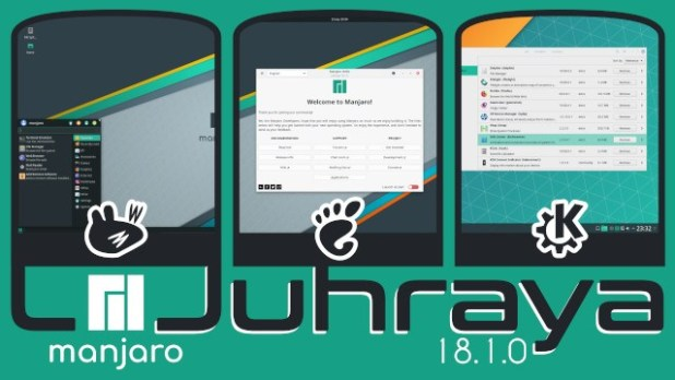 Sortie officiellement de Manjaro 18.1 de son nom « Juhraya »