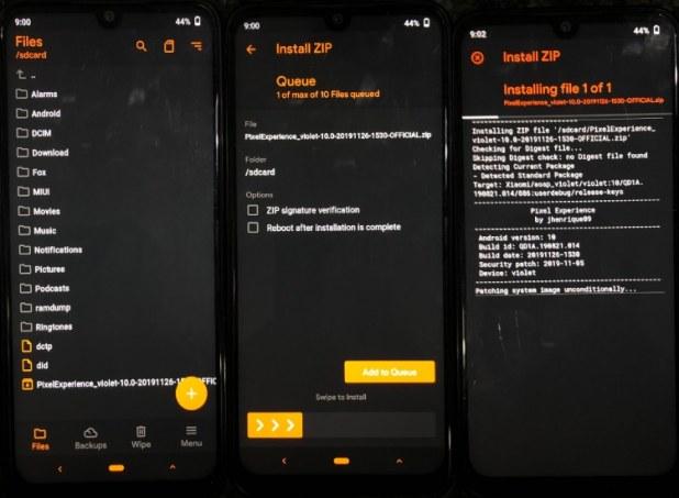 Installer une ROM personnalisée à l'aide d'OrangeFox