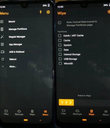 OrangeFox на Xiaomi и Редми
