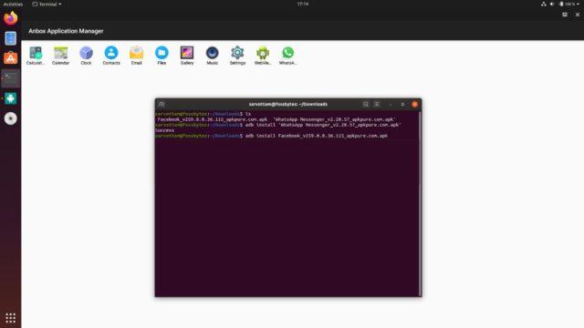Anbox - instalando aplicativo usando adb