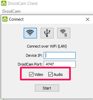 Проверьте аудио и видео варианты