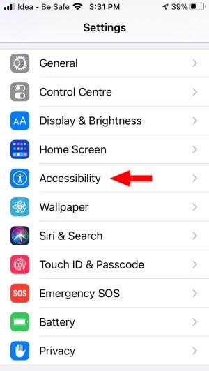 Включить распознавание звука iOS 14 iPhone 1