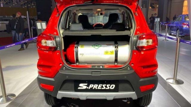 Maruti Suzuki S-Presso S-CNG
