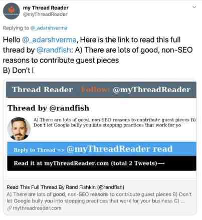 тема в твиттере преобразуется в сообщение в блоге