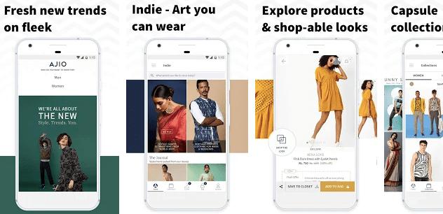 Ajio Online Shopping Shein alternative