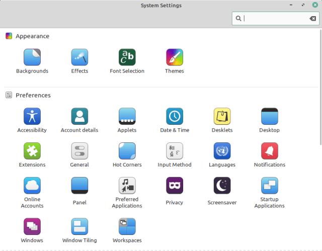 System Settings App