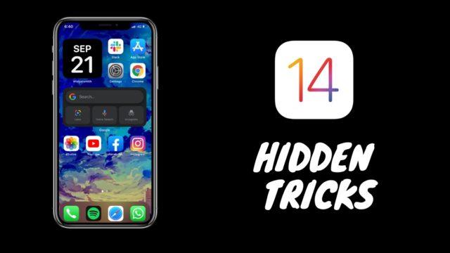 iOS 14 best Hidden Tricks