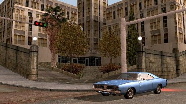 GTA SA graphics mod