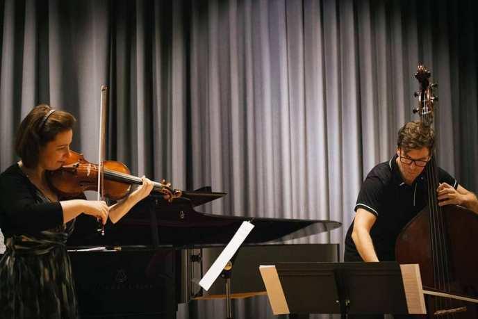 Solistane våre Péter Palotai og Melina Mandozzi, som skulle spelt med oss på konsertane 21. og 22. mars.