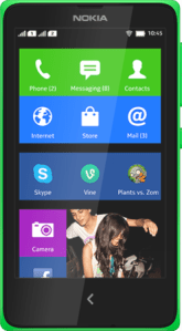 Nokia X running forked version of Android