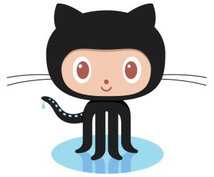 Technically, only five of Github's Octocat's legs are visible, but there are eight there.