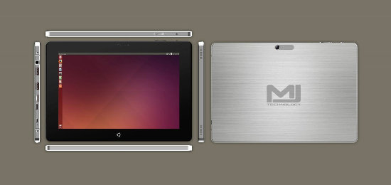MJ Technology Ubuntu Tablet