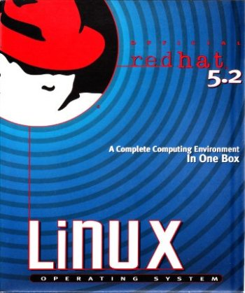 Red Hat 5.2 shrink wrapped box