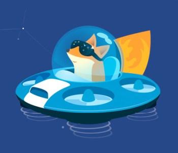 Mozilla Firefox Test Pilot logo