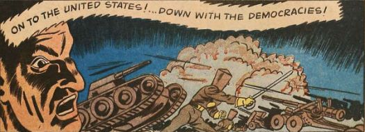 Man of War comics