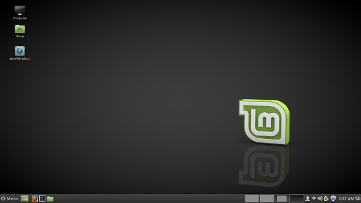 linux mint 18 desktop screenshot