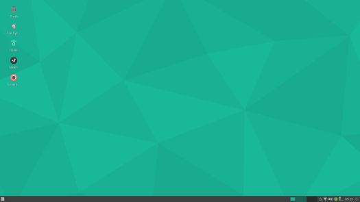 Manjaro Xfce default screenshot