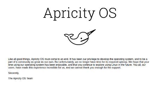 Apricity OS Linux