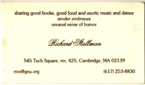 RMS Stallman