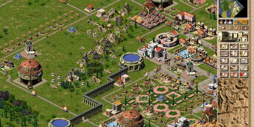 Caesaria - a Free City Building and Economic Simulation Game, remake of Caesar III