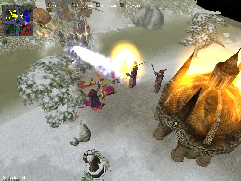 Glest - 3D Free Real Time Strategy Game with Two Factions at War