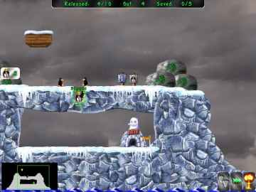 Pingus - Free Puzzle Platformer PC Game inspired by Lemmings
