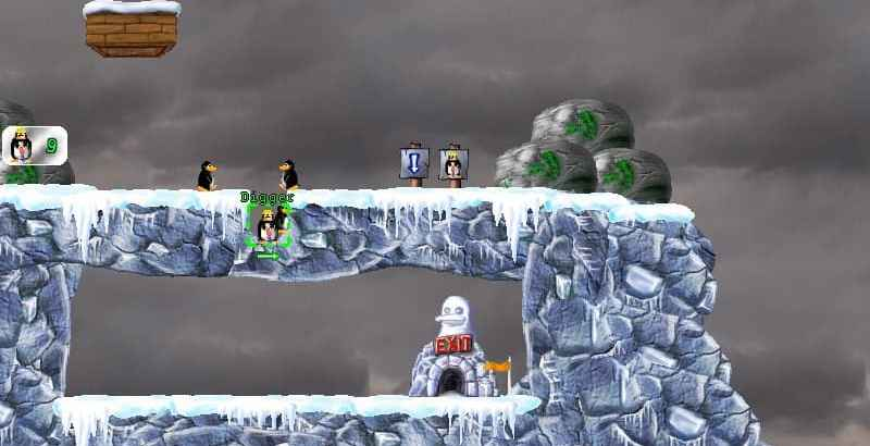 Pingus Free Puzzle Platformer PC Game inspired by Lemmings2