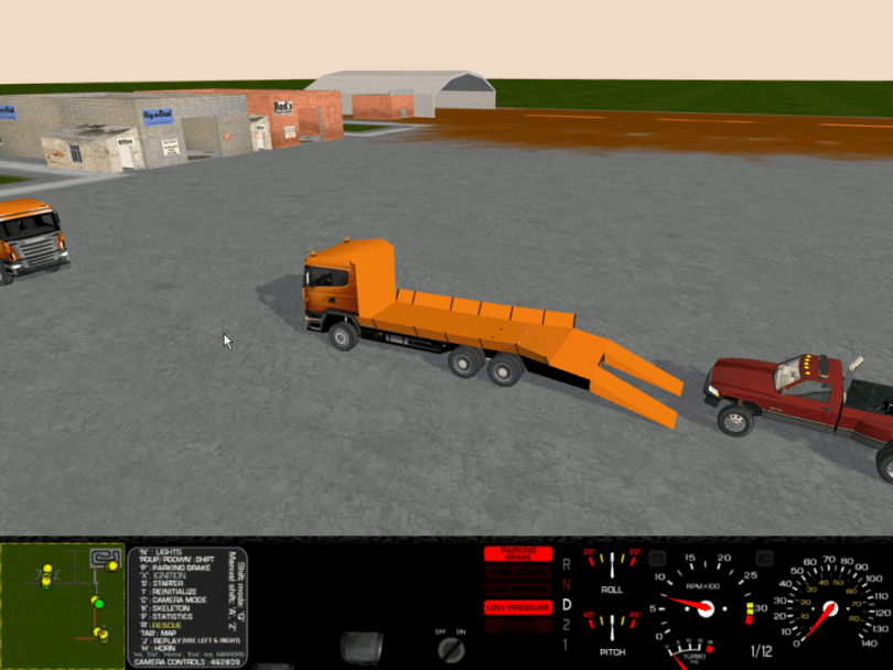 Rigs of Rods - free and open source truck physics simulation game