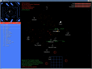 XPilot - an Online Multiplayer Space Action Game