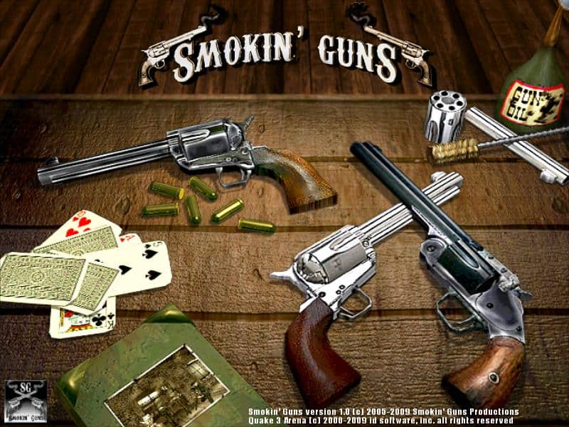 Smokin' Guns - Free Cowboy FPS Game based on Quake III