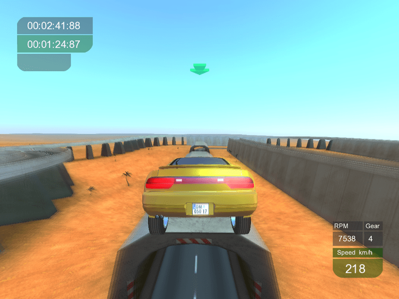 Tile Racer - Free Download 3D stunt racing game with realistic car physics