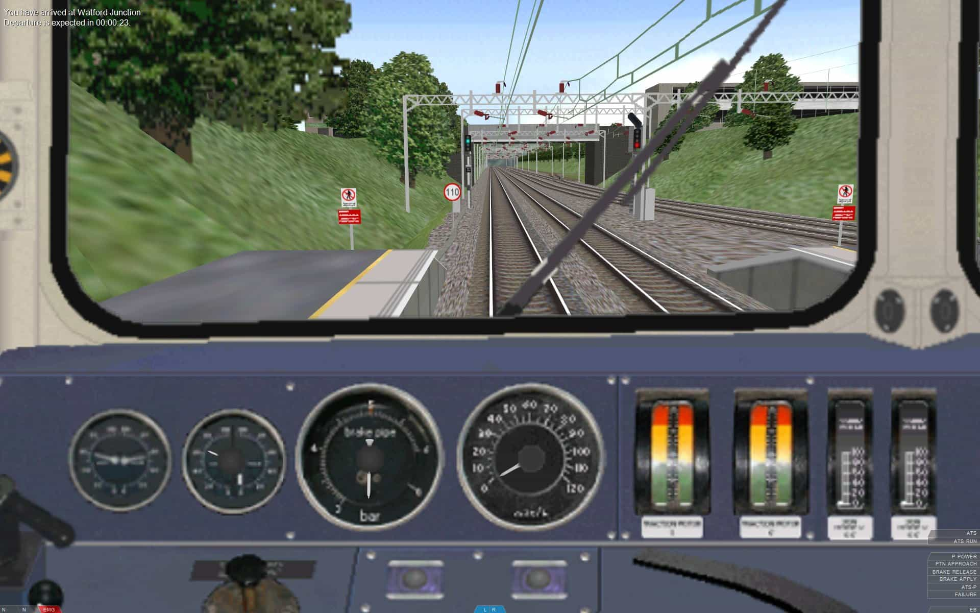 Train Driving Sim (Web Games)