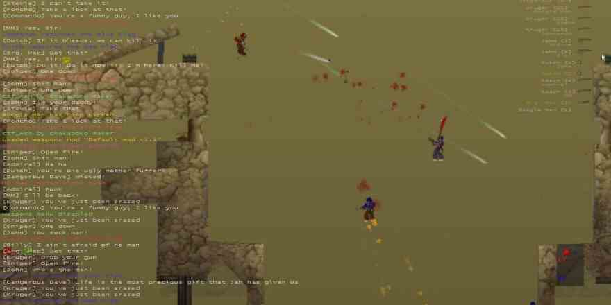 Soldat a unique 2D side view multiplayer action game 2