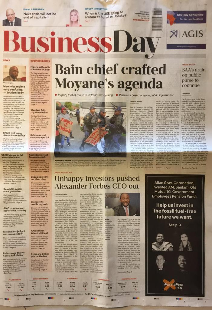 Investment in africa newspaper 1 million investment visa uk gift