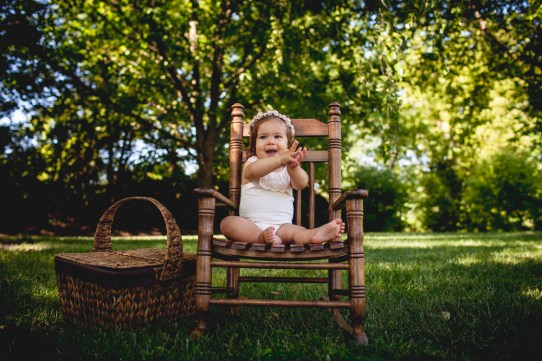 Fossil Photography- Everly one year-12