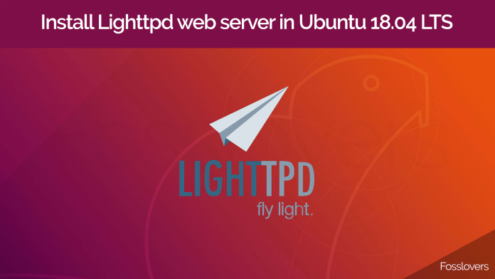 Install-Lighttpd-web-server-in-Ubuntu-18.04-LTS-and-CentOS