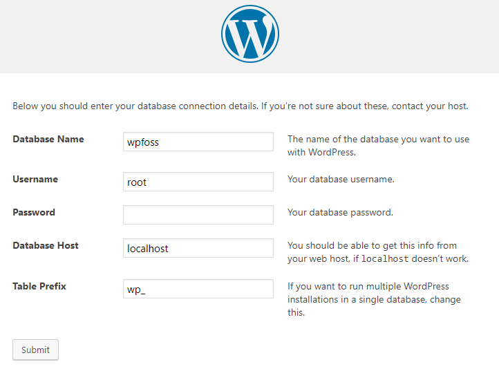 how to install wordpress on localhost via xampp 9