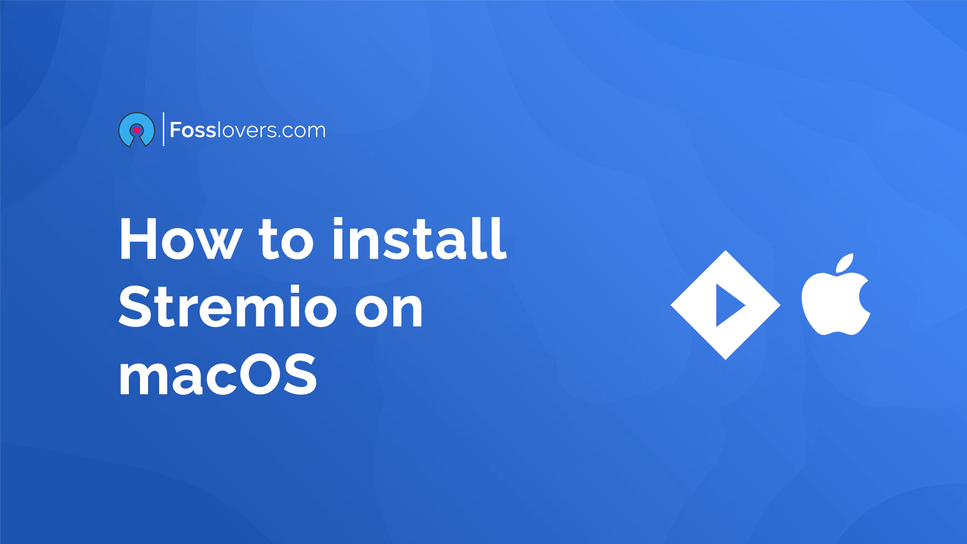 How to install Stremio on macOS