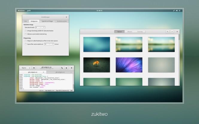 zukwito linux  theme
