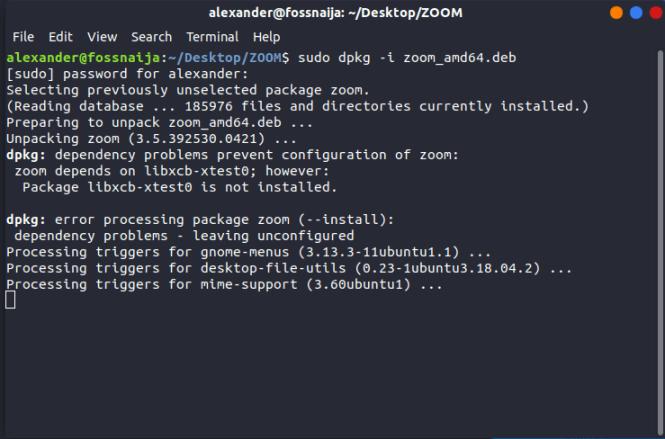 dpkg command