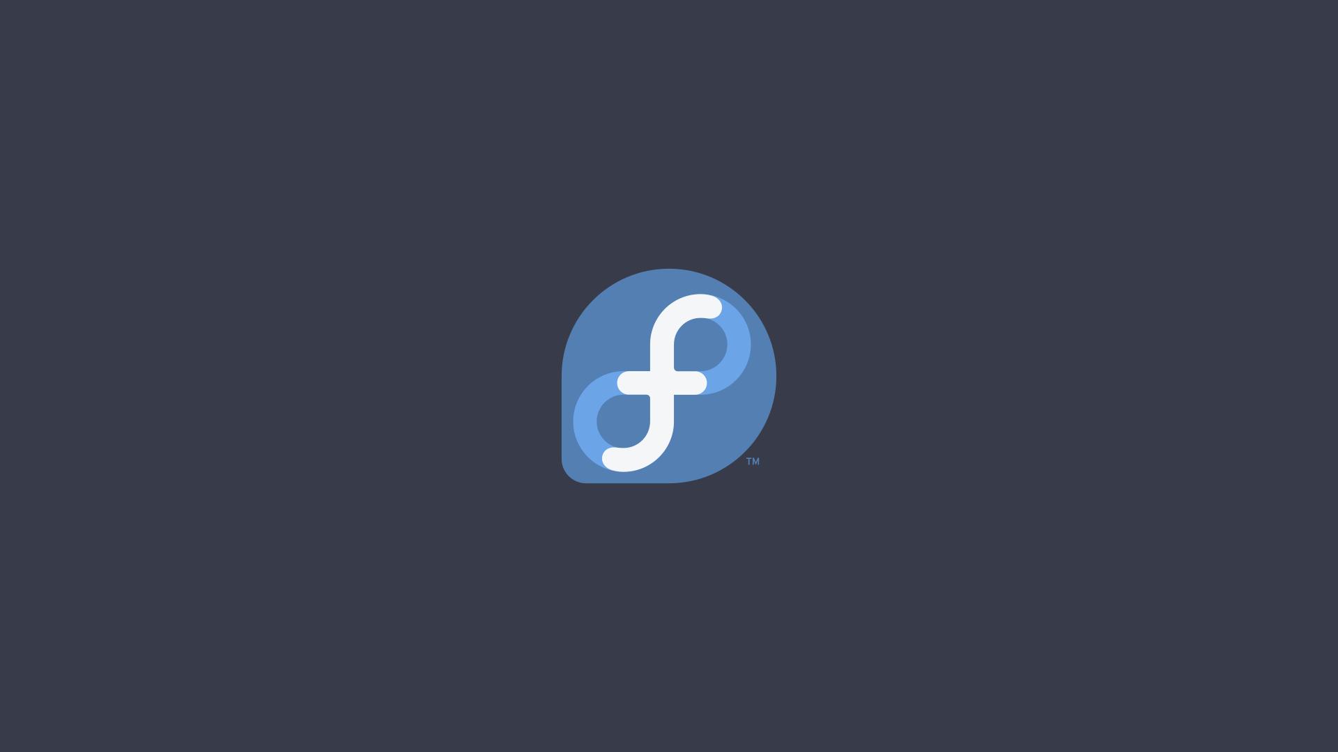 Fedora Linux Wallpaper Screenshot