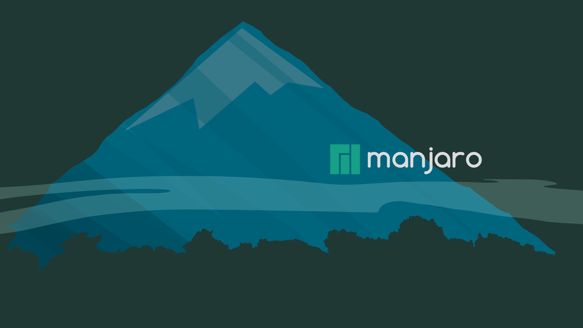 Manjaro Linux Wallpaper Screenshot