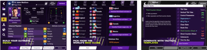 Football Manager 2021 Mobile app on Windows
