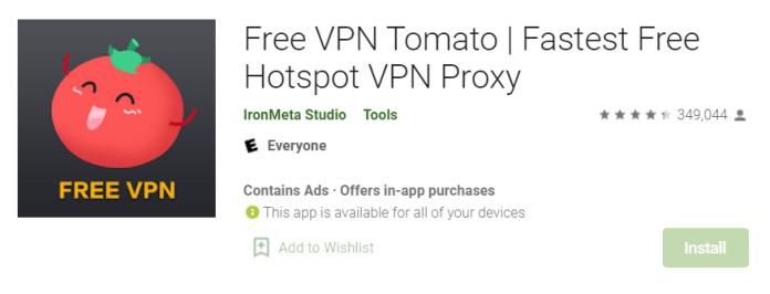 Tomato VPN for Mac