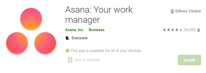 Asana for Mac