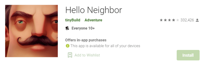 Secret Neighbor for Mac