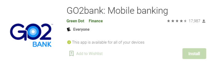 Go2Bank for Mac