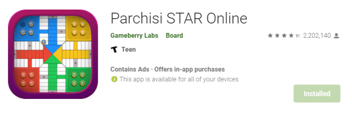 Parchisi Star for Mac